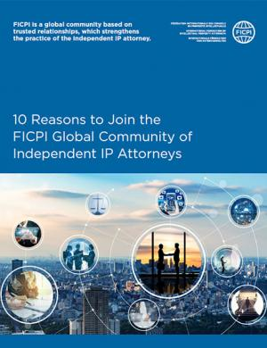 10 Reasons to Join FICPI Brochure